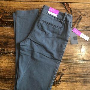 Mossimo Mid-Rise Skinny Gray Pants